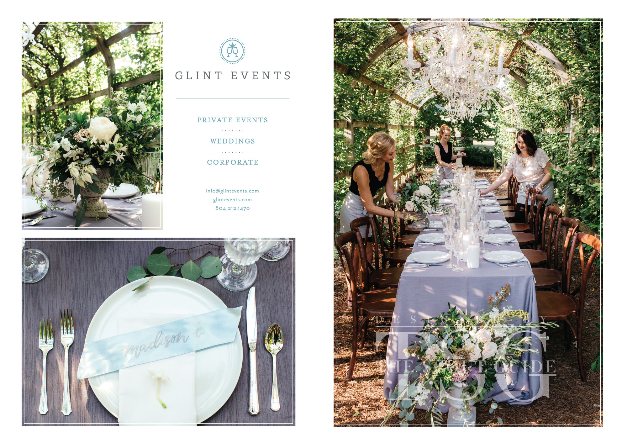 The Scout Guide Richmond, Betty Clicker Photography, Glint Events, Wedding Planner, Corporate Planner, Event Planner, Tuckahoe Plantation, Garden Party, Classic Party Rentals of Virginia, Lighting Professors, Petals & Twigs, candles, greenery
