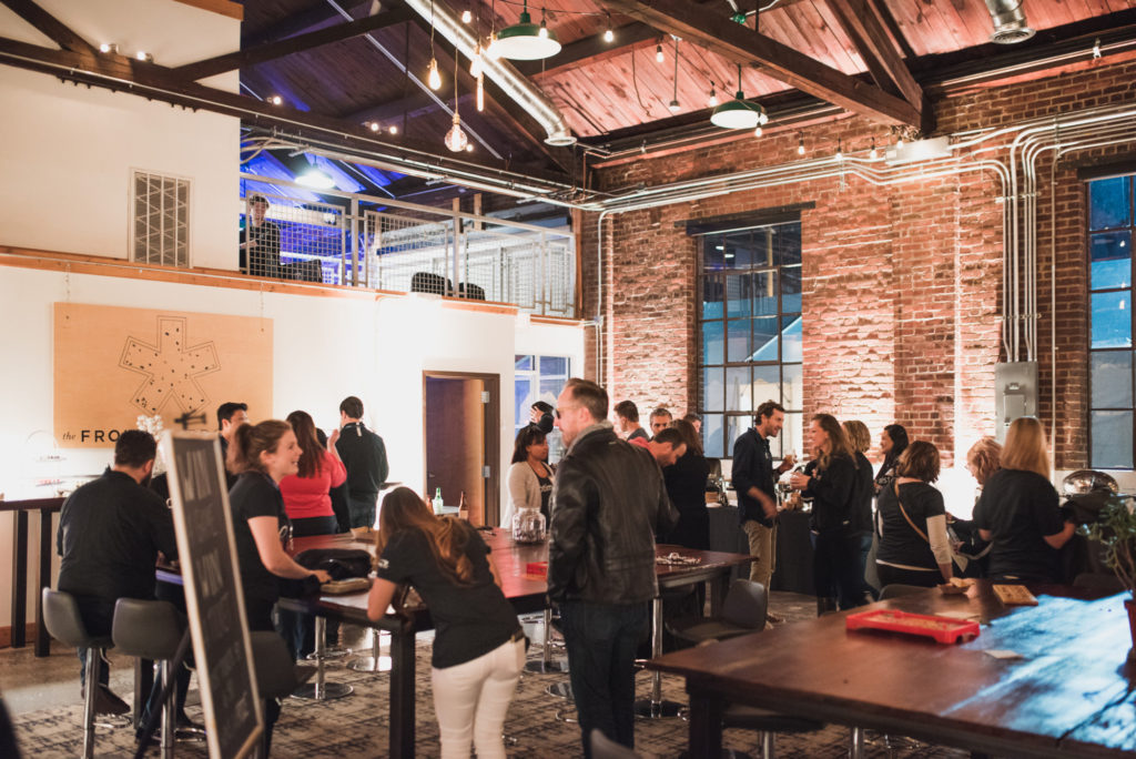 Corporate Events, Corporate Event Planning, Capital One, The Frontier Project, Scott's Addition Events, Ethan Hickerson, Industrial Events, Arcade Games, Choice Entertainment, Richmond Events, Food Trucks, Richmond Photo Booth, The Cozy Caravan