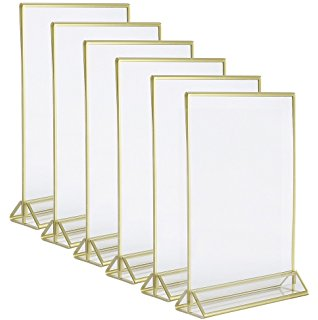 4x6 Double Sided Standing Frames Glint Events